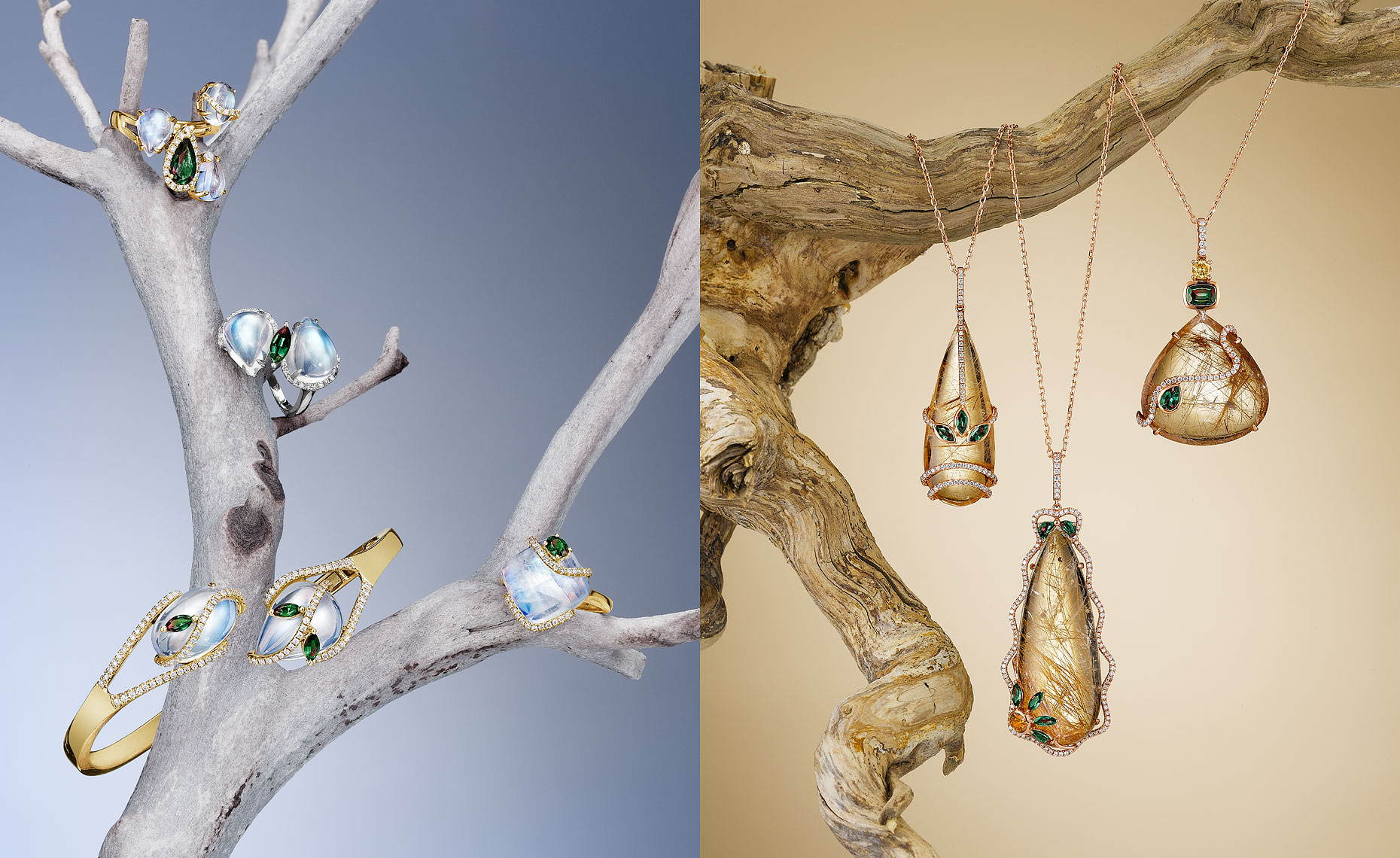 Jewelry on Branches